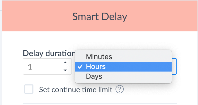 Smart Delay Time Select