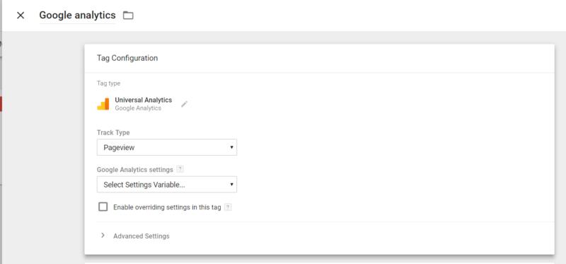 ตัวอย่าง การติดตั้ง Google Analytics ผ่าน Google Tag Manager