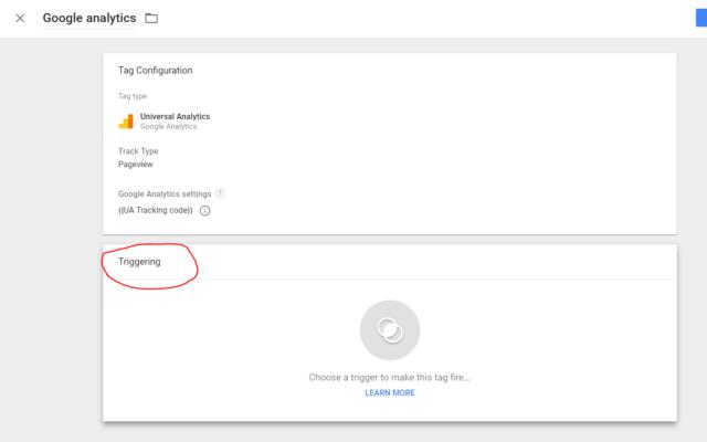 การใช้งาน Feature Trigger ใน Google Tag Manager