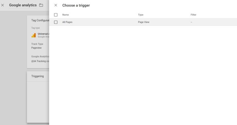 การบอกให้ Google Tag Manager เรียกใช้ Tag Google Analytics ทุกหน้า