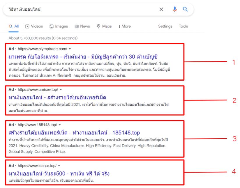 วิธีเพิ่ม-CTR-ของ-Google-Ads-ตัวอย่าง
