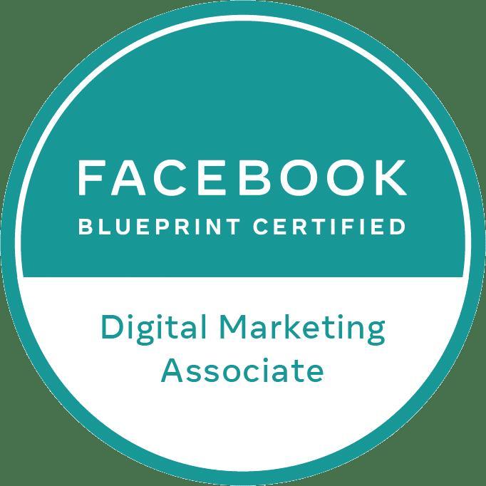 Facebook Blueprint Certified - Digital Marketing Associate